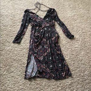 FLORAL PRINT BCBG DRESS